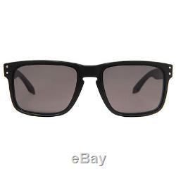 Oakley Holbrook OO9102-01 Matte Black Grey Men's Sunglasses 55mm