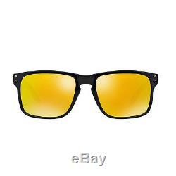 Oakley Holbrook OO9102-08 Shaun White Polished Black/Gold Men's Sunglasses