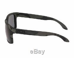 Oakley Holbrook OO9102-92-55 Men's Multicam Black/Polarized Grey Lens Sunglasses