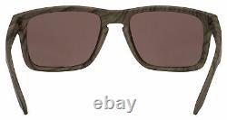 Oakley Holbrook OO9102-B7 Woodgrain Prizm Daily Polarized Lens