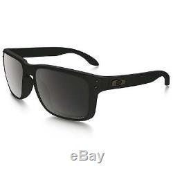 Oakley Holbrook OO9102-D6 Matte Black Frame / Prizm Black Polarized Lens