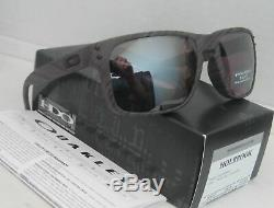 Oakley Holbrook POLARIZED Sunglasses OO9102-B7 Woodgrain WithPRIZM Daily Lens 57MM