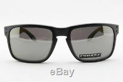 Oakley Holbrook POLARIZED Sunglasses OO9102-D655 Matte Black With PRIZM Black Lens