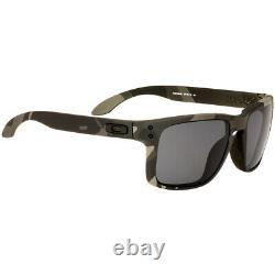 Oakley Holbrook Plastic Frame Grey Polarized Lens Men's Sunglasses OO910292