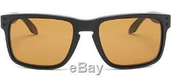 Oakley Holbrook Polarized Men's Matte Black Sunglasses OO9102 9855