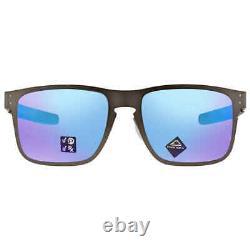 Oakley Holbrook Polarized Prizm Sapphire Rectangular Men's Sunglasses