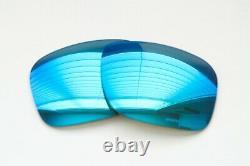 Oakley Holbrook Prizm Sapphire Polarized Replacement Lenses Authentic Blue
