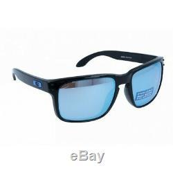 Oakley Holbrook Sunglasses Black Frame Prizm Deep H20 Polarized Lens OO9102-C1