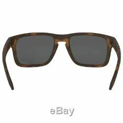 Oakley Holbrook Sunglasses Matte Brown Tortoise withPrizm Black Men OO9102 F455