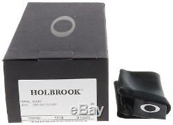 Oakley Holbrook Sunglasses OO9102-06 Polished Clear Chrome Iridium Lens BNIB