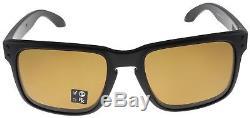 Oakley Holbrook Sunglasses OO9102-98 Matte Black Bronze Polarized Lens BNIB
