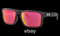 Oakley Holbrook Sunglasses OO9102-J155 Matte Black With PRIZM Field Lens CARDINALS