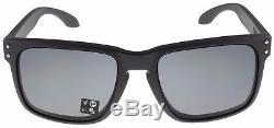 Oakley Holbrook Sunglasses OO9244-12 Steel Grey Polarized Asia Fit BNIB