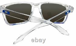 Oakley Holbrook XL Clear Frame Prizm Sapphire Polarized Lens Sunglasses 0OO9417