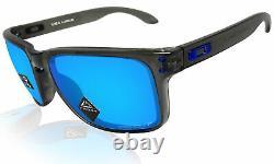 Oakley Holbrook XL Grey Smoke Prizm Sapphire Polarized Lens Sunglasses 0OO9417
