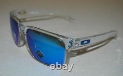Oakley Holbrook XL OO9417-0759 Polished Clear/Prizm Sapphire Polarized Lens NEW