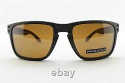 Oakley Holbrook XL POLARIZED Sunglasses OO9417-0659 Woodgrain With PRIZM Tungsten