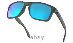 Oakley Holbrook XL POLARIZED Sunglasses OO9417-0959 Grey Smoke With PRIZM Sapphire