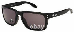 Oakley Holbrook XL Sunglasses OO9417-0159 Matte Black Warm Grey Lens