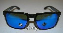 Oakley Holbrook XL Sunglasses OO9417-0359 Polished Black/Prizm Sapphire NEW