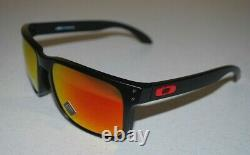 Oakley Holbrook XL Sunglasses OO9417-0459 Matte Black/Prizm Ruby NEW