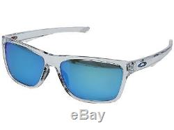 Oakley Holston OO9334-13 Sunglasses Polished Clear Prizm Sapphire Lens 9334 13