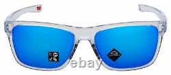 Oakley Holston Sunglasses OO9334-1358 Polished Clear Prizm Sapphire Lens
