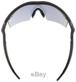 Oakley Industrial M-Frame Sunglasses 11-162 Matte Black Grey Lens ANSI Z87.1