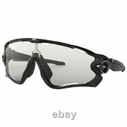 Oakley JAWBREAKER Sunglasses OO9290-14 Polished Black WithClear Black Photochromic