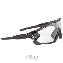 Oakley Jawbreaker Clear Black Iridium Photochromic Activated Sport Men's