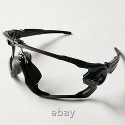 Oakley Jawbreaker Matte Black Gunmetal Icons Replacement Frame Only Authentic