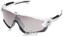 Oakley Jawbreaker Polished White PRIZM Black Iridium Sunglasses OO9290 29 31