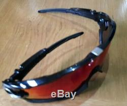 Oakley Jawbreaker Prizm Road Sunglasses (Polished Black/Silver)