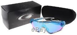 Oakley Jawbreaker Sunglasses OO9290-02 Sky Blue Sapphire Iridium Lens BNIB