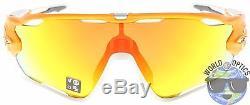 Oakley Jawbreaker Sunglasses OO9290-09 Atomic Orange Fire Iridium Polarized