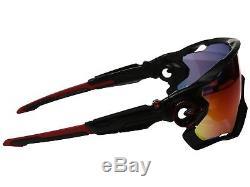 Oakley Jawbreaker Sunglasses OO9290-2031 Matte Black Prizm Road 9290 20