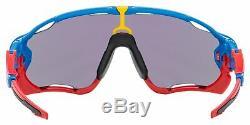 Oakley Jawbreaker Sunglasses OO9290-4231 Sapphire Blue Prizm Jade Lens