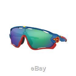 Oakley Jawbreaker Sunglasses OO9290 42 Sapphire Blue Blue Green Prizm Lens 31mm