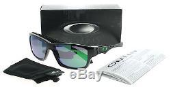 Oakley Jupiter Squared OO9135-05 Polished Black/Jade Iridium Men's Sunglasses