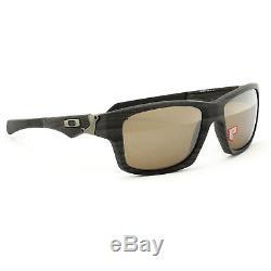 Oakley Jupiter Squared Sunglasses OO9135-07 Woodgrain Tungsten Iridium Polarized