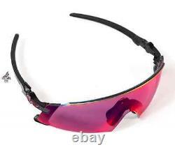 Oakley Kato X Primz Sunglasses Polished Black Road Lenses Biking OO9475-0149