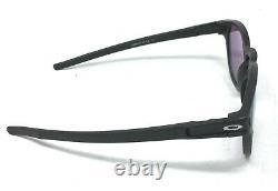 Oakley Latch Men's Matte Black Prizm Violet Sunglasses OO9265-5553
