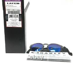 Oakley Latch Men's Matte Grey Prizm Sapphire Polarized Sunglasses OO9265-3253