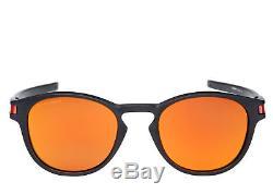 Oakley Latch Sunglasses Matte Black Prizm Ruby OO9265-29 9265 29