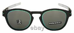 Oakley Latch Sunglasses OO9265-3453 Matte Black Fade Prizm Grey Borderline