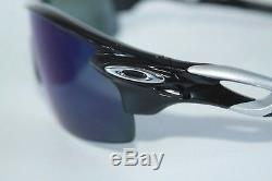 Oakley MPH RadarLock Pitch Polarized Sunglasses OO9182-1938 Black With Deep Blue