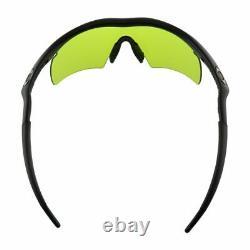Oakley M FRAME HYBRID Sunglasses 11-096 Black Frame With Laser Toric Lens
