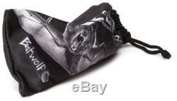 Oakley Men's Batwolf Sunglasses, Clear Frame/Ice Iridium Lens OO9101-07