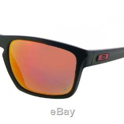Oakley Men's Black Sliver Iridium Sunglasses From The Ferrari Collection OO9269