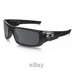 Oakley Men's Crankshaft Sunglasses 60mm (Polished Black / Black Iridium)